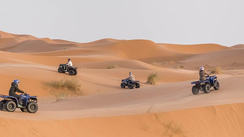 Quad Biking Tour Abu Dhabi